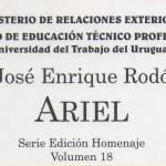 """PRÓLOGO DE """"ARIEL"""""""